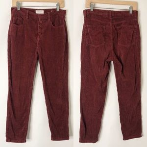 PacSun Vintage Icon Corduroy Cropped Skinny Pants